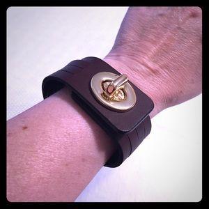 Coach Leather Bracelet